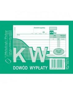 KW Kasa wypłaci A6 402-5-99