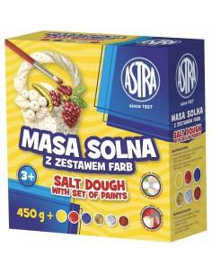 Masa solna 0,45kg z zestawem farb ASTRA-3196