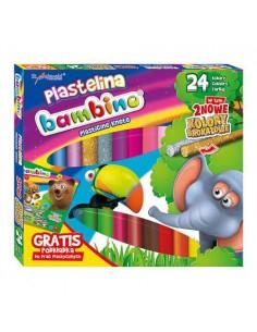 Plastelina BAMBINO 24 kolory standard-3355