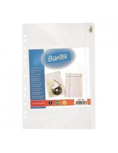 Koszulka A4 kieszeniowa suwak BANTEX-782