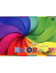 Zeszyt papierów kolorowych A4 10k INT-3581