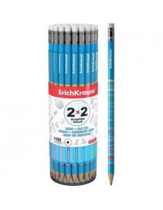 Ołówek z tabliczką mnożenia z gumką ErichKrause-5036