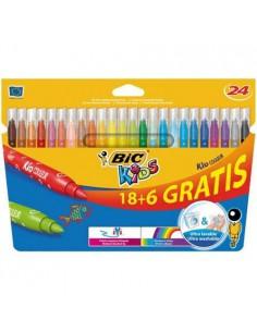 Pisaki 24 kolory (18 6) BIC KID COULEUR -5310
