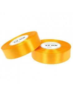 25mm WS8016 Wstążka satynowa jasny pomarańcz 32mb-5511