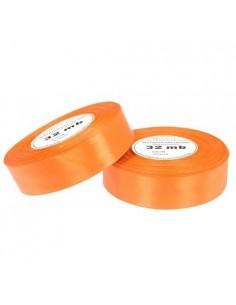 25mm WS8020 Wstążka satynowa ciemny pomarańcz 32mb-5517