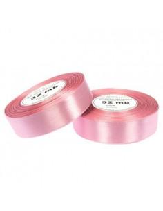 6mm WS8044 Wstążka satynowa brudna różowa 32mb-5566