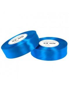 25mm WS8107 Wstążka satynowa ciemna niebieska 32mb-5661