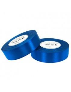 25mm WS8108 Wstążka satynowa mocna niebieska 32mb-5664