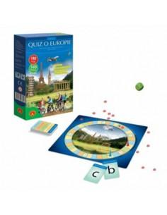 Gra dydaktyczna QUIZ o Europie MINI Alexander 10 -6213