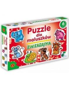 Puzzle dla maluszków- Zwierzątka Alexander -6257