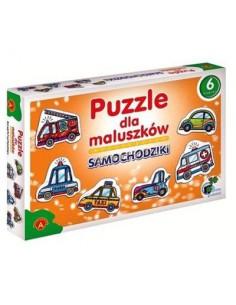 Puzzle dla maluszków- Samochodziki Alexander -6259