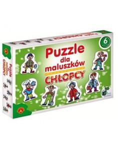 Puzzle dla maluszków- Chłopcy Alexander -6260