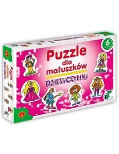 Puzzle dla maluszków- Dziewczynki Alexander -6261