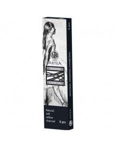 Węgiel naturalny rysunkowy 6 szt. 6-8 mm ASTRA-6494