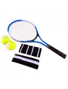 Sport tenis rakieta w zestawie 2piłki opaski-7559