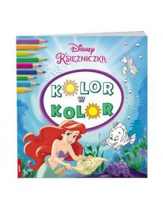 Kolorowanka KSIĘŻNICZKA kolor w kolor-6923