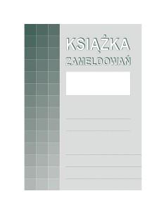 Książka zameldowań A4 830-1-7055