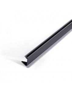 Grzbiet listwowy wsuwany 3mm czarny a 50-7898