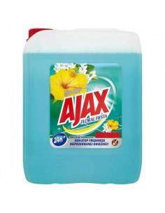 AJAX płyn uniwersalny niebieski kwiat laguny 5L-3962