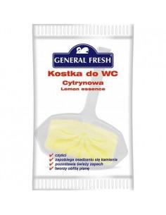 Kostka WC GENERAL folia 30g cytryna -6275