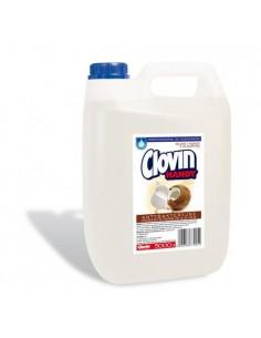 Mydło w płynie CLOVIN mleko i kokos 5L-4153