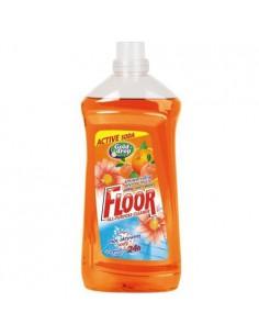 Płyn uniwersalny FLOOR pomarańcza z sodą 1,5L-6612
