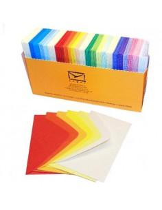 Koperta wizytowa MIX kolorów 200szt.-7943