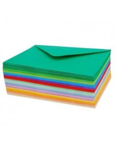 Koperta kolorowa C6 z karteczką -7944