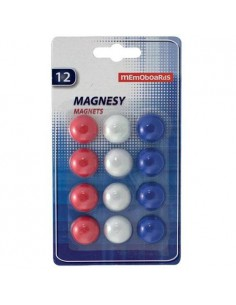 Magnesy MEMOBOARDS do tablic 12 szt. blister-8167