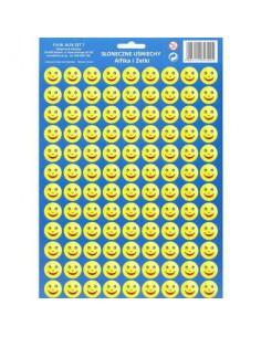 Nalepki BUŹKI ALFA-ZET Serdeczne Uśmiechy 21x30-8214