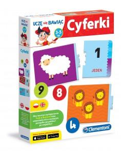 Cyferki 3-5 lat Clementoni-8749