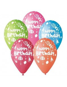 "Balony Premium ""Happy Brithday, 12"" a'5-6838"