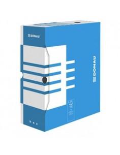 Pudełko do archiwizacji 80mm DONAU niebieskie-865