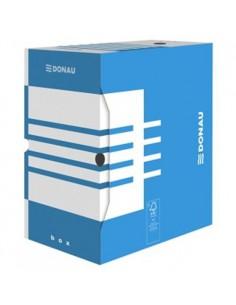 Pudełko do dokumentów 100mm niebieskie DONAU-870