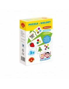Puzzle kolory- zabawa i nauka Alexander