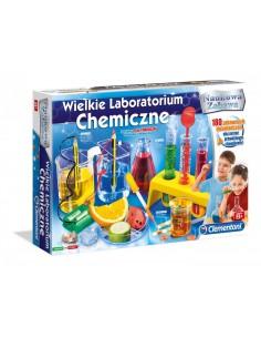 Wielkie Laboratorium CHEMICZNE Clementoni  8 lat-8715