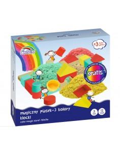 Piasek MAGICZNY kolorowy GR-F712PK FIORELLO 600g k-6263