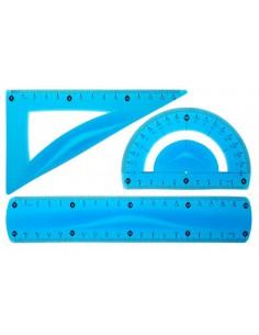 Zestaw geometryczny niebieski A'1 TETIS-1147