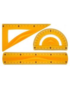 Zestaw geometryczny pomarańczowy A'1 TETIS-1146
