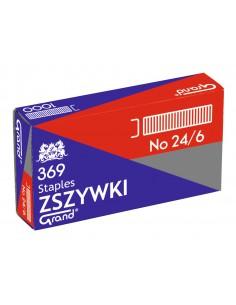 Zszywki biurowe 24/6 GRAND-724
