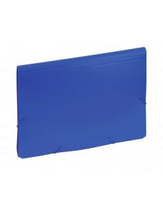 Aktówka z przekładkami 9112 C niebieska-2991