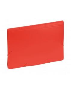 Aktówka z przekładkami 9112 c czerwona-2994