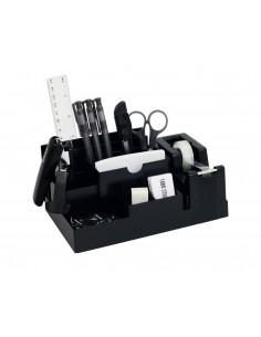 Przybornik biurko 330S z wyposażeniem czarny 14el.-3040