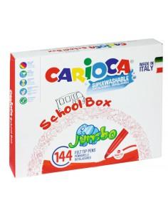 Zestaw szkolny Carioca JUMBO 144 szt.-8475
