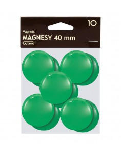 Magnes 40mm GRAND zielony 10szt-2969