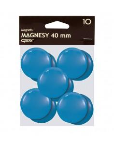 Magnes 40mm GRAND niebieski 10szt-2968