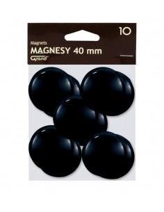 Magnes 40mm GRAND czarny 10szt-2967