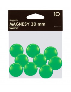 Magnes 30mm GRAND zielony 10szt-2956