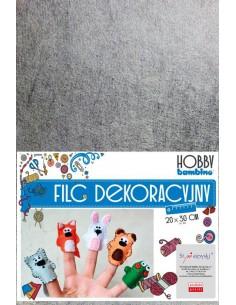 Filc dekoracyjny 20x30 cm 10 kolorów Hobby Bambino