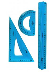 Zestaw komplet geometryczny elastyczny BAMBINO 30cm
